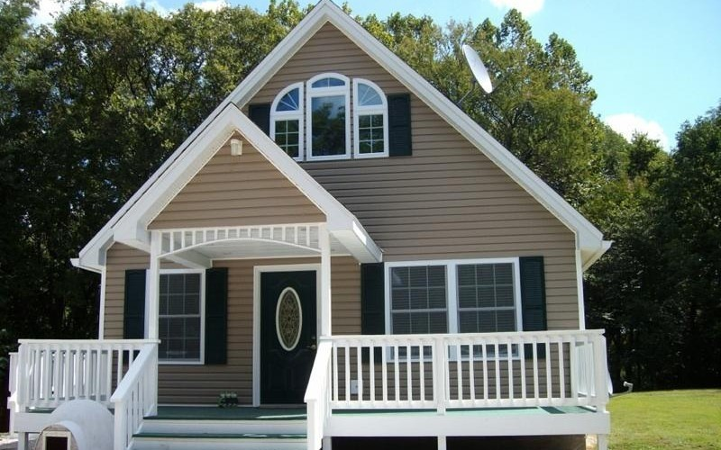 Update the look of your home with exterior improvements such as siding, roofing, decking, and trim!