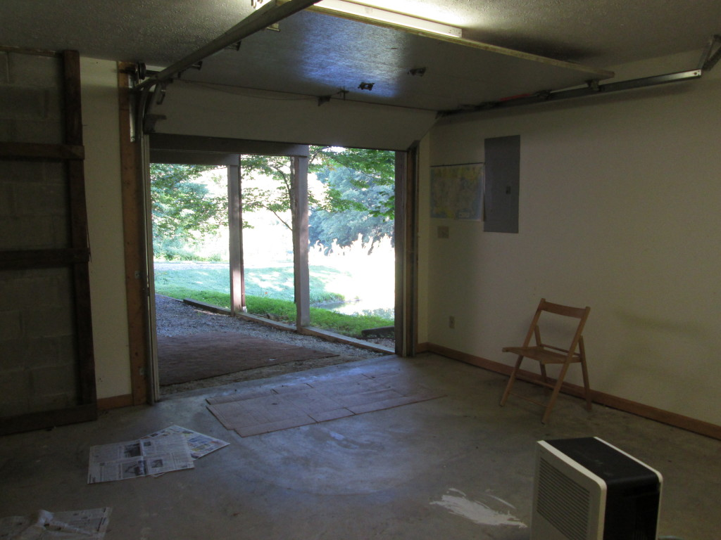 Basement Remodel (Before)